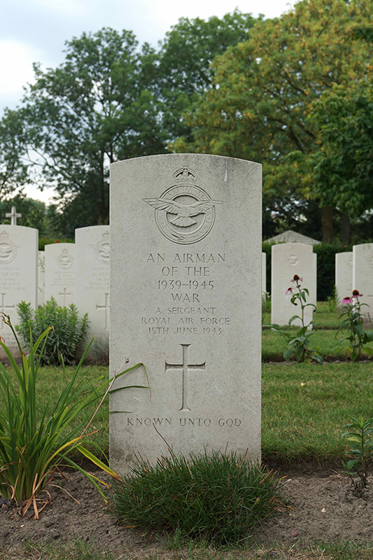An Airman Of The 1939-1945 War 15th June 1943